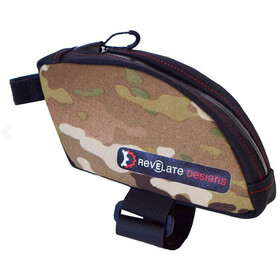 Revelate Designs Jerrycan Bolsa Tubo Superior Normal, multi camo